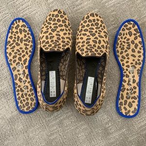 Rothy's GUC size 9 spotted loafers